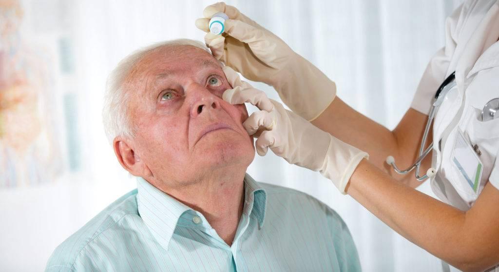 Слезотечение у пожилых людей: лечение, причины