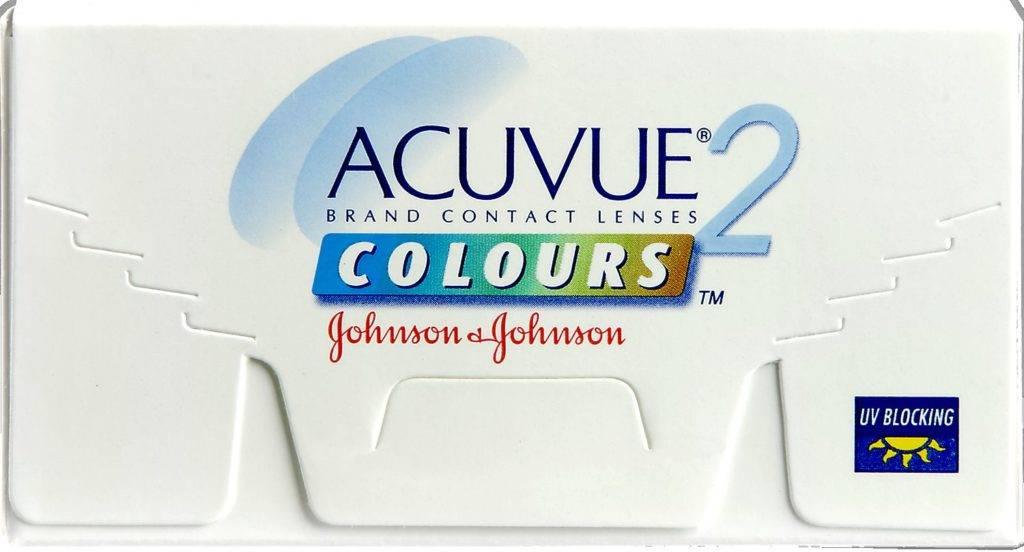 Описание 2 моделей цветных линз для глаз acuvue (акувью)
