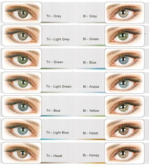 Как подобрать цветные линзы для глаз - советы по подбору цветных линз