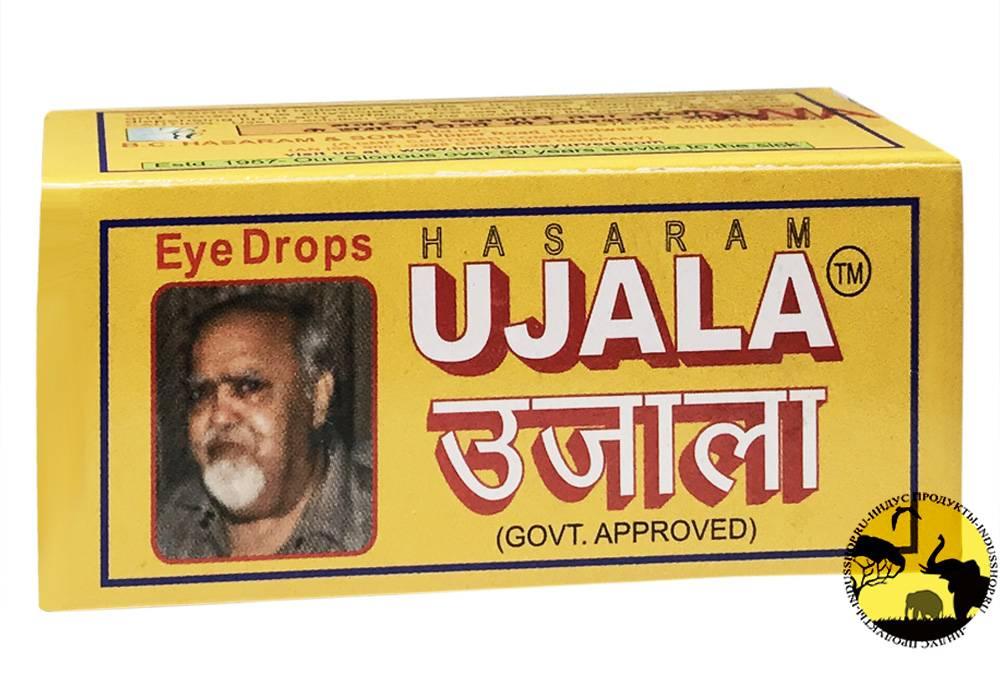 Уджала – инструкция по применению индийских глазных капель