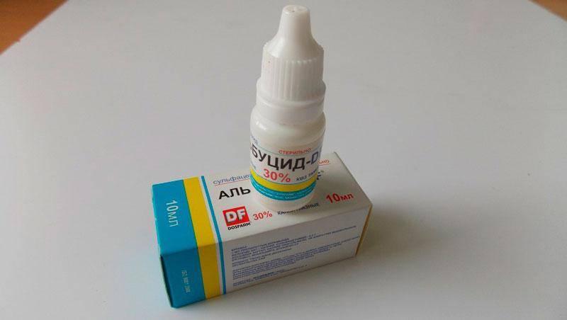 Капли от ячменя на глазу – список лучших препаратов