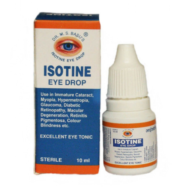Инструкция по применению глазных капель isotine