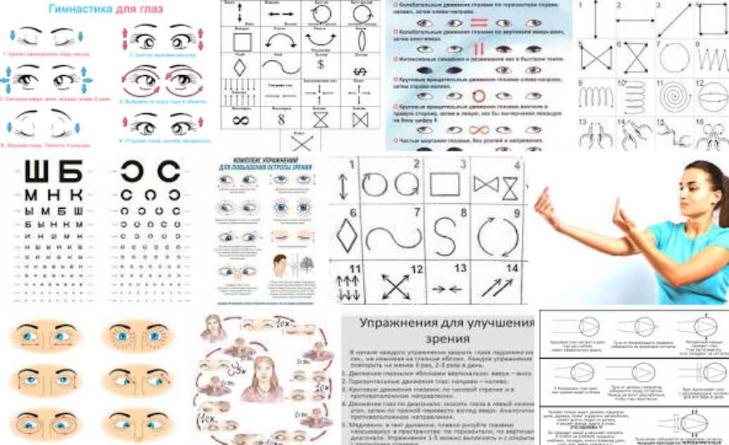 Упражнения для восстановления зрения: какая зарядка помогает, метод жданова