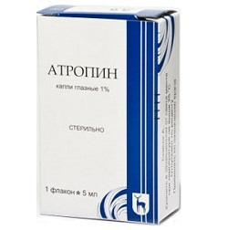 Атропин глазные капли: аналоги, цена, применение, противопоказания