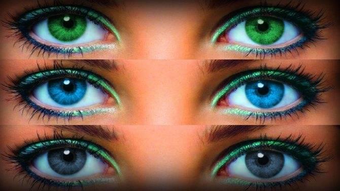 Думаете как подобрать цветные линзы, чтобы сделать образ еще эффектнее? особенности подбора для карих, зеленых, голубых, серых и черных глаз. цветные контактные линзы.