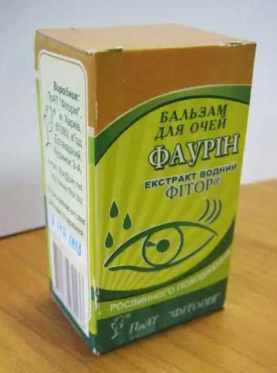 """Глазные капли """"фаурин"""": инструкция, отзывы"""