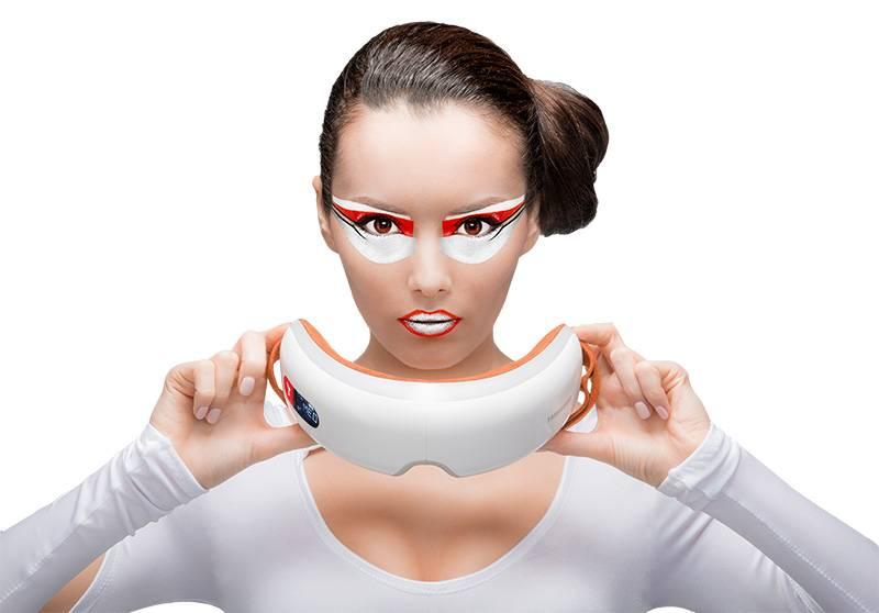 Как использовать очки-массажеры для глаз? в каких случаях их применяют?