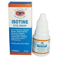 "Глазные капли ""айсотин"" (isotine), 10 мл  (арт. 2619)"