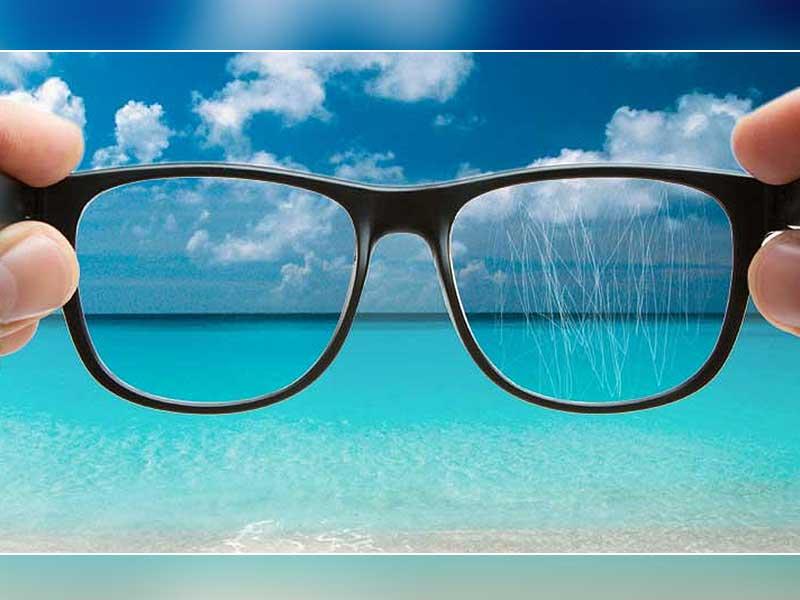 Как убрать царапины с очков для зрения или солнцезащитных очков