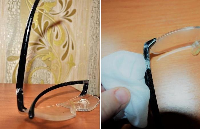 Как отремонтировать очки своими руками. технология лазерной сварки