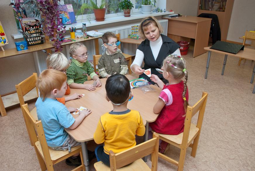 Дети с нарушением зрения (дошкольного возраста, подростки), особенности диагностики