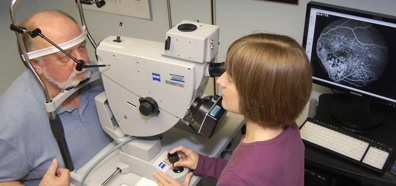 Оптическая когерентная томография (окт) зрительного нерва при глаукоме - цена и где сделать в москве