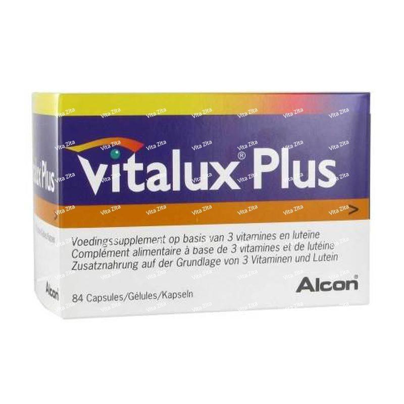 Виталюкс плюс - инструкция по применению витаминов для глаз