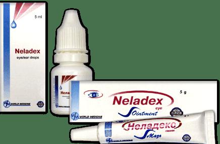 Неладекс капли глазные – инструкция, отзывы, аналоги