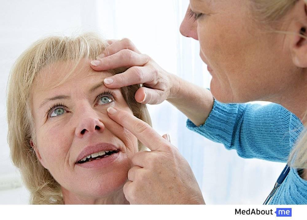 Сетка перед глазами причины лечение
