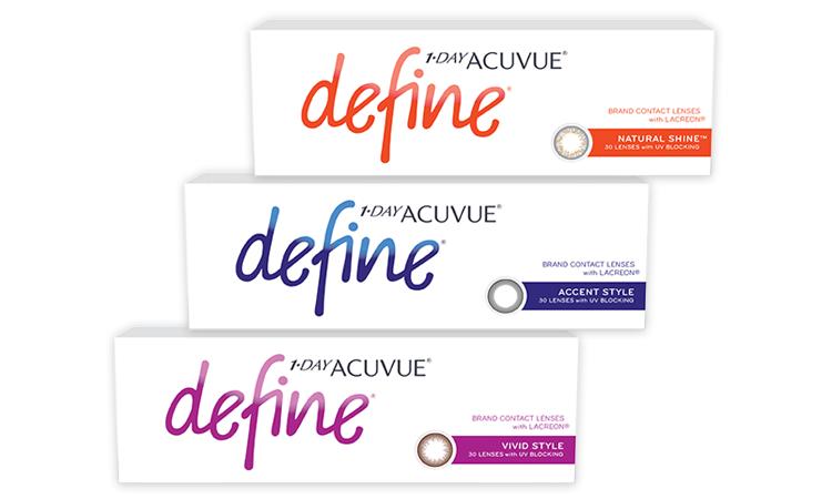 Особенности линз 1 day acuvue define