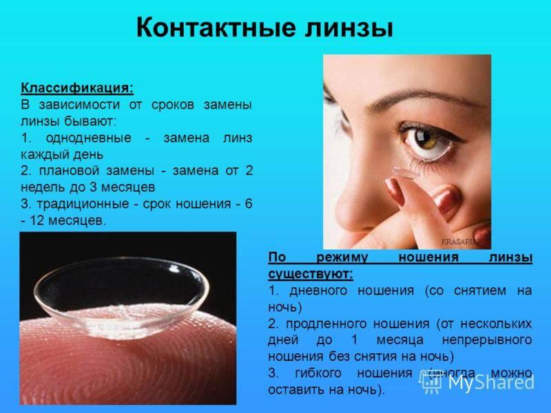 Ночные линзы: противопоказания, осложнения, последствия, вред при ношении ортокератологических (ок) средств для восстановления зрения, плюсы и минусы применения