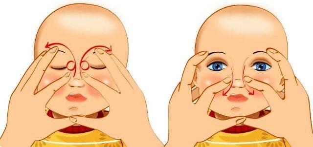 Массаж слезного канала у новорожденных. как правильно делать. советы врачей