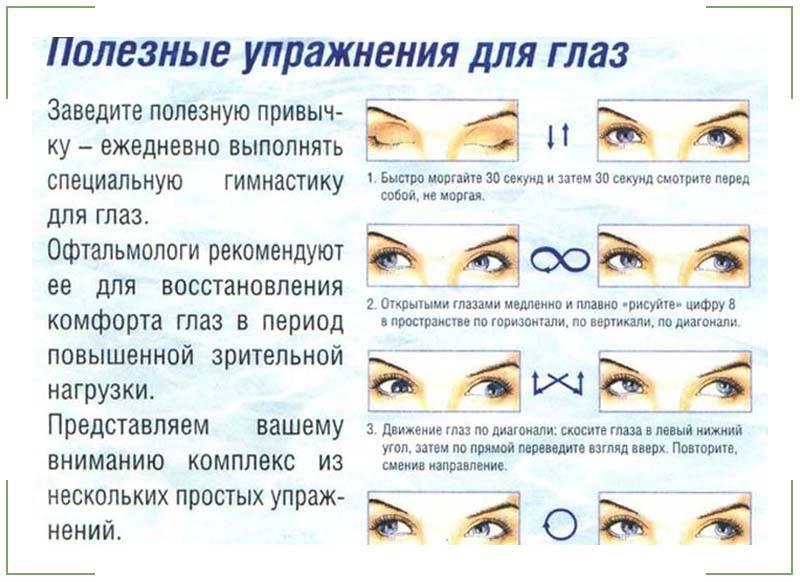 Массаж для глаз против проблем со зрением