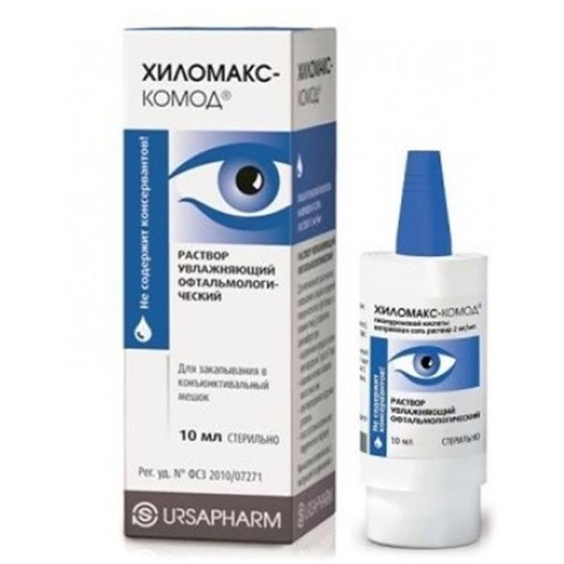 Вид комод - глазные капли: инструкция по применению, аналоги