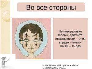 Больно двигать глазами: причины, лечение и профилактика