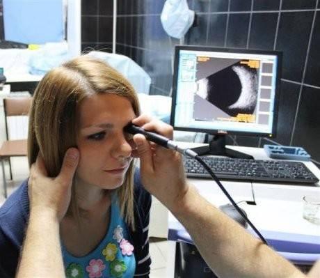 B-сканирование глаза