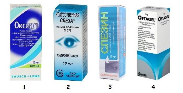 Капли для глаз от покраснения и усталости: список эффективных препаратов
