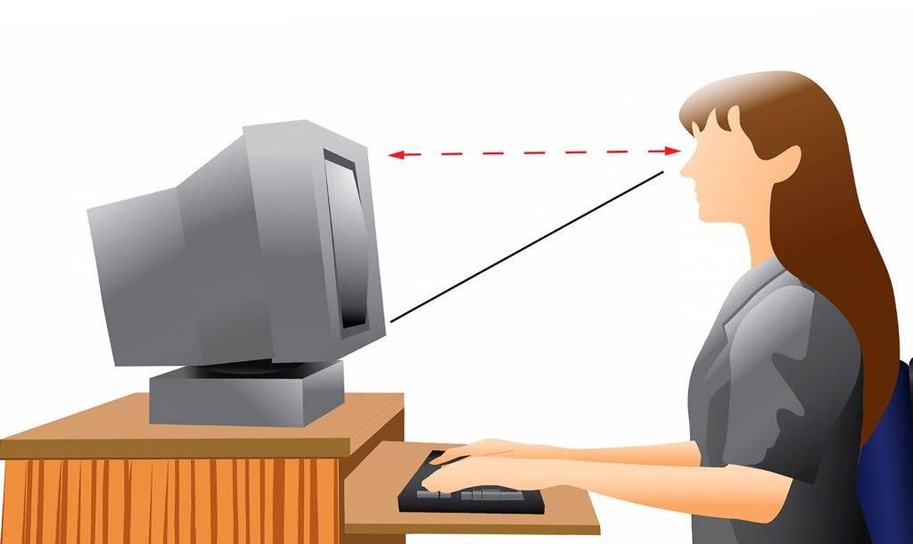 Какие мониторы лучше для глаз и зрения