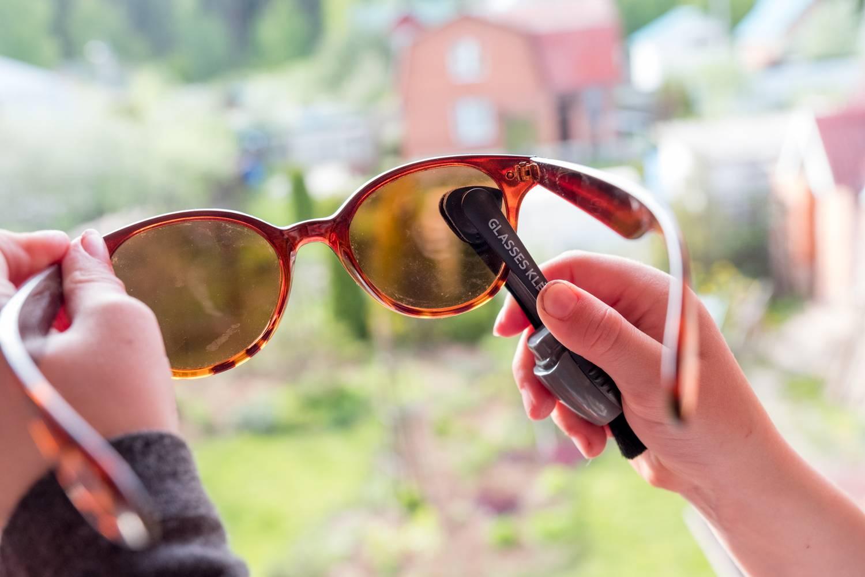 Как убрать царапины с очков (солнцезащитных, для зрения) - полировка линз