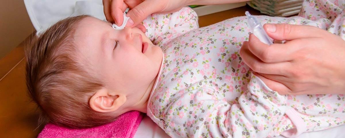 Лечение конъюнктивита у новорожденных