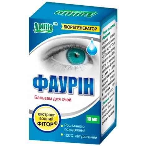 Фаурин капли глазные - инструкция, цена, отзывы