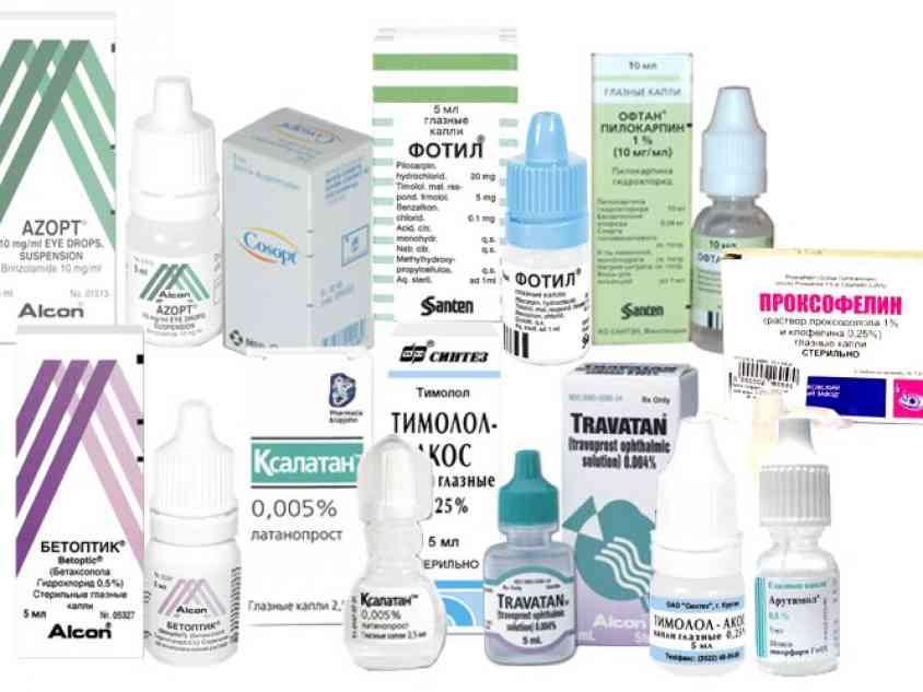 Капли от глазного давления: без побочных эффектов и список самых безопасных