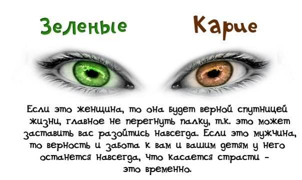 Серо желтые глаза характеристика. что означает цвет глаз? зеленые глаза: цвет глаз и характер