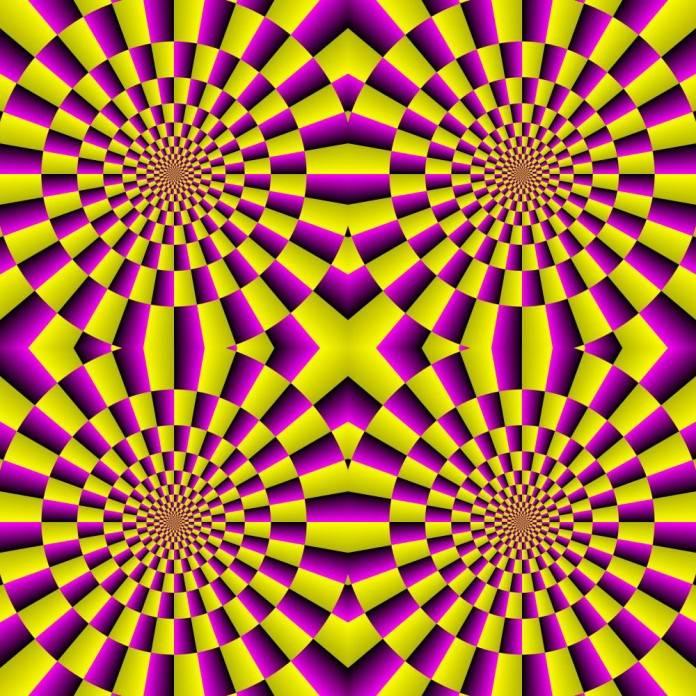 Обман зрения или оптическая иллюзия