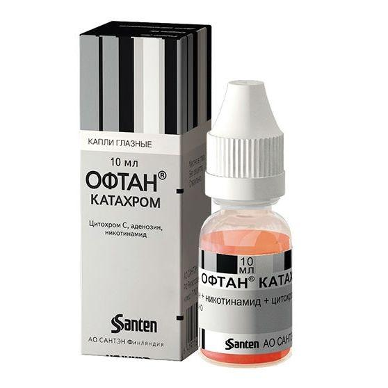 Офтан катахром - для чего назначают глазные капли, польза и вред для человека, инструкция по применению, дешевые аналоги, отзывы