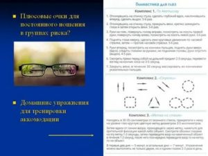 Очки для близорукости