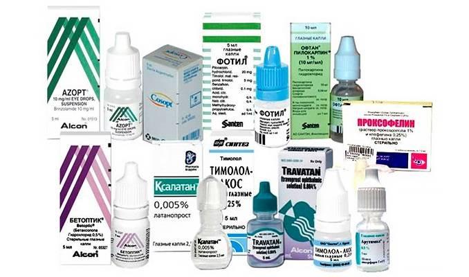 Глазные капли от аллергии - список с названиями препаратов