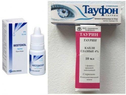 Список глазных каплей при катаракте. цены и отзывы о препарате