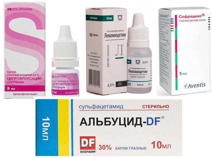 Лекарство от ячменя на глазу мазь и капли взрослым и детям