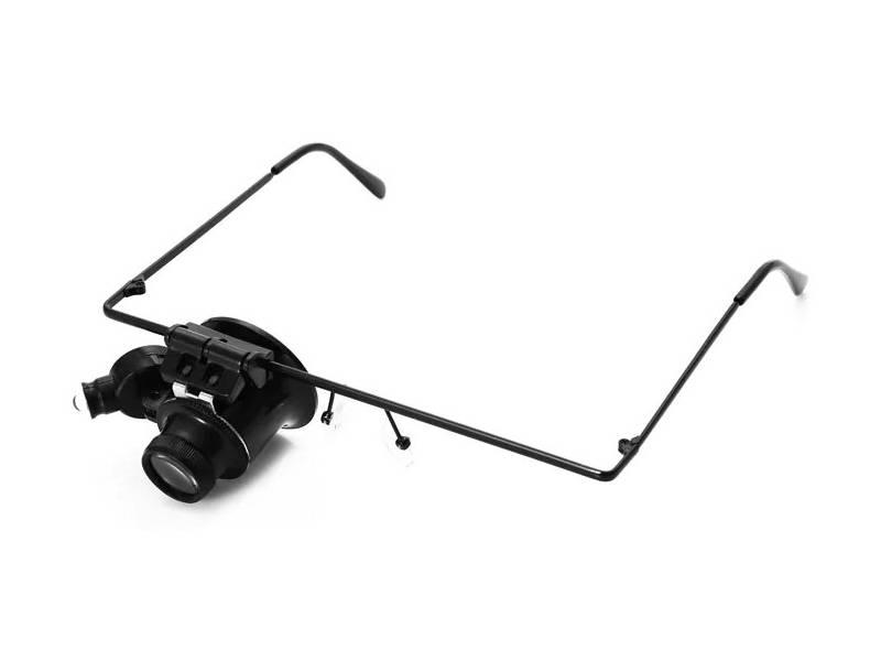 Ювелирные лупы: часовая лупа с подсветкой для ремонта часов и очки-лупа для ювелирных мастеров, налобные и 40-кратные, монокуляр и другие