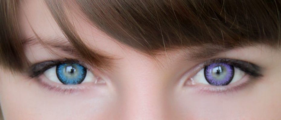 Линзы для карих глаз цветные – разные цвета не для зрения