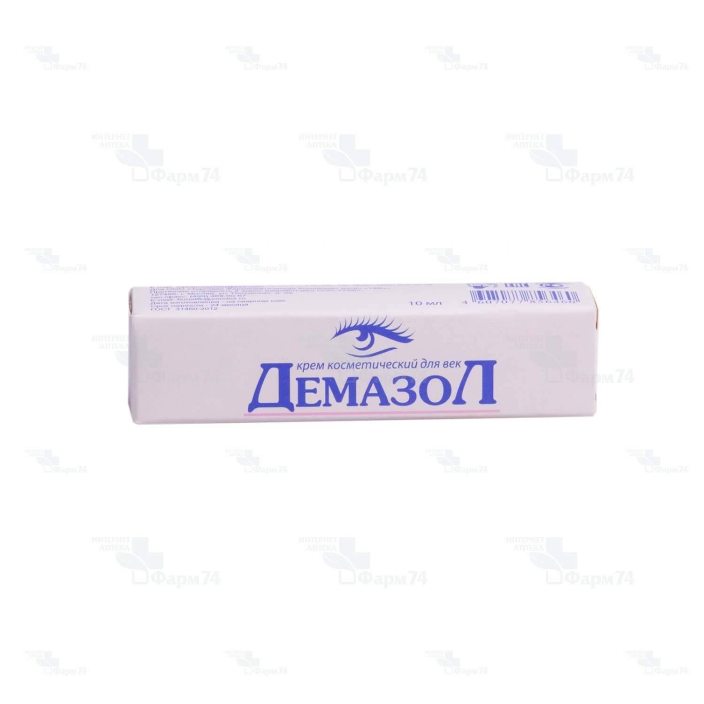 Купить демазол крем для век 10г цена от 114руб в аптеках москвы дешево, инструкция по применению, состав, аналоги, отзывы