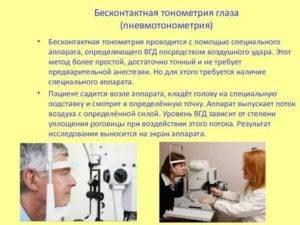 Тонография глаза