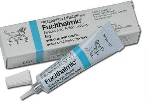 Фуциталмик – инструкция по применению глазных капель для детей и взрослых