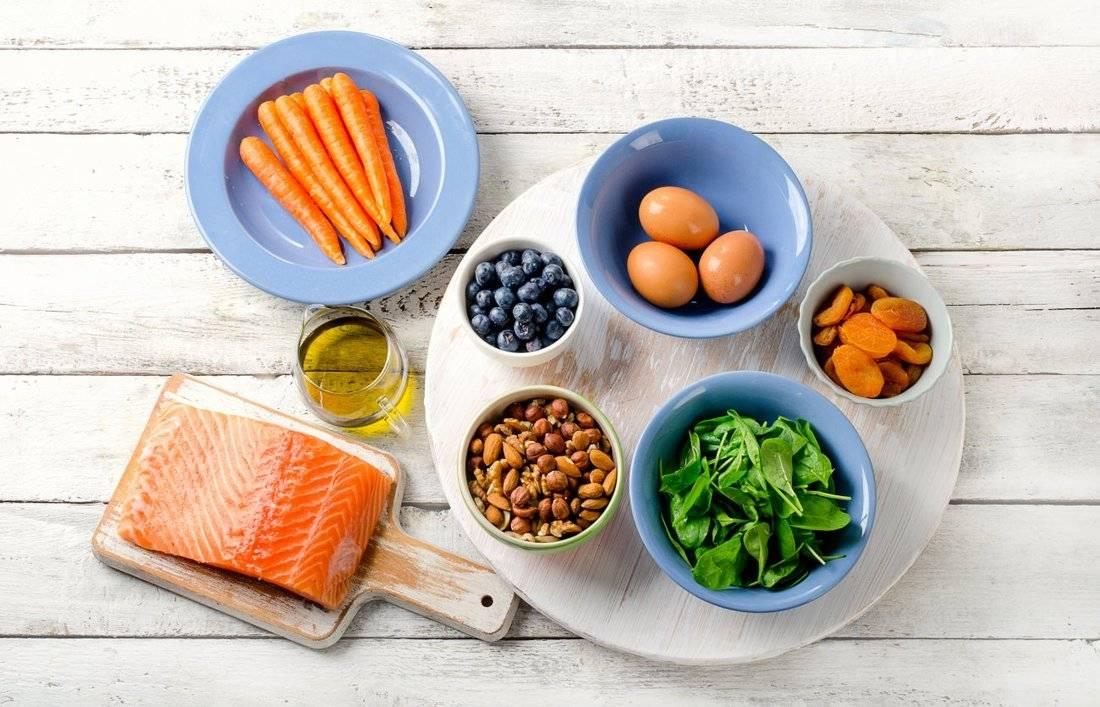 Питание при глаукоме: витаминные продукты для зрения