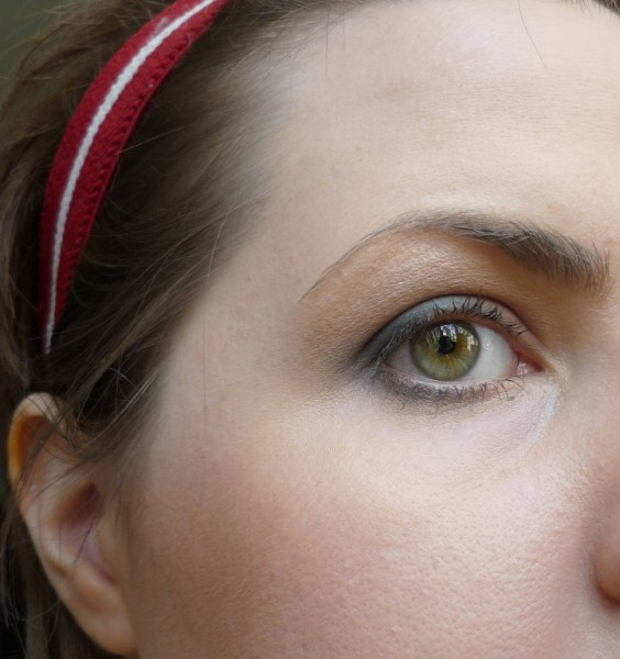 Покраснела кожа наружного угла глаза