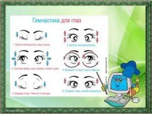 Оторвитесь от монитора: зарядка для глаз при работе с компьютером