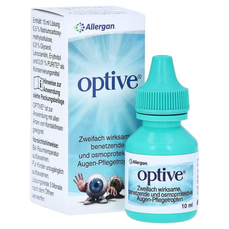 Оптив глазные капли – инструкция, цена, отзывы и аналоги