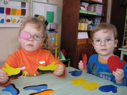Дети с нарушениями зрения классификация детей по степени нарушения зрения и зрительным возможностям