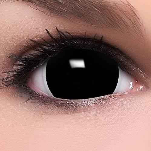 Склеры черные линзы на весь глаз обзор цена - медицинский справочник